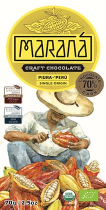 Marana Piura 70% Bio-Schokoladentafel