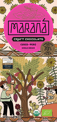 Marana Cusco 70% Schokoladentafel