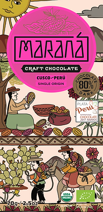 Marana Cusco 80% Schokoladentafel