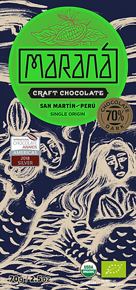 Marana San Martin 70% Bio-Schokoladentafel