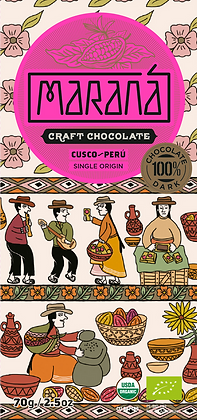Marana Cusco 100%  Chuncho Kakao 70g