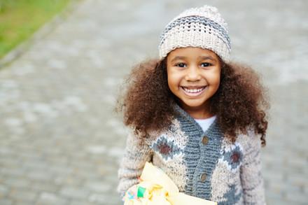Cute-african-american-girl-wearing-knits