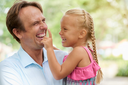 Joyful-father-and-kid