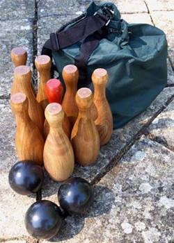 Wooden Skittles