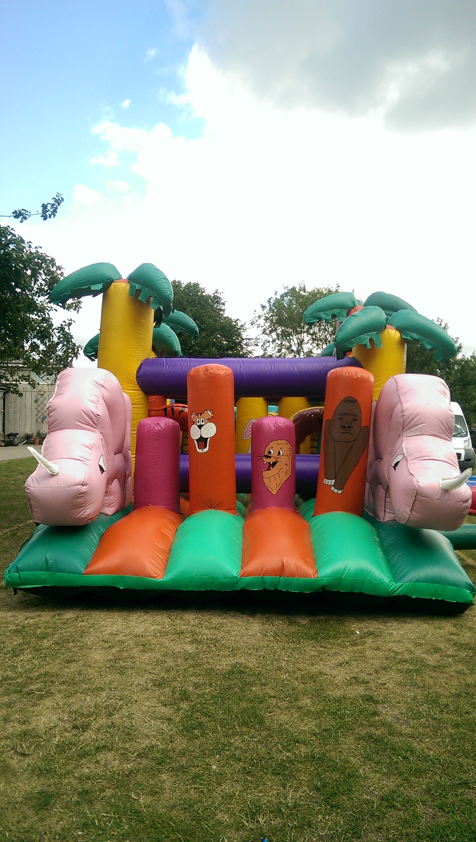 Giant Assault Course