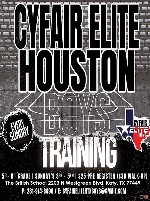 CFE HTX Boys - Training Package (Sunday's)