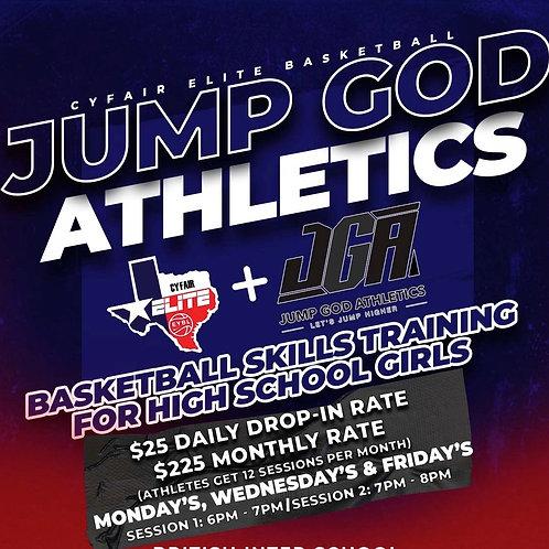 KSA/JGA -Girls High School Basketball Training