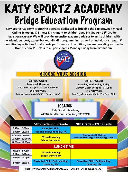 Bridge Education Program 2X Per Week