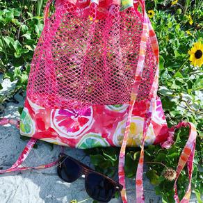 Madeira Mesh Beach Bag