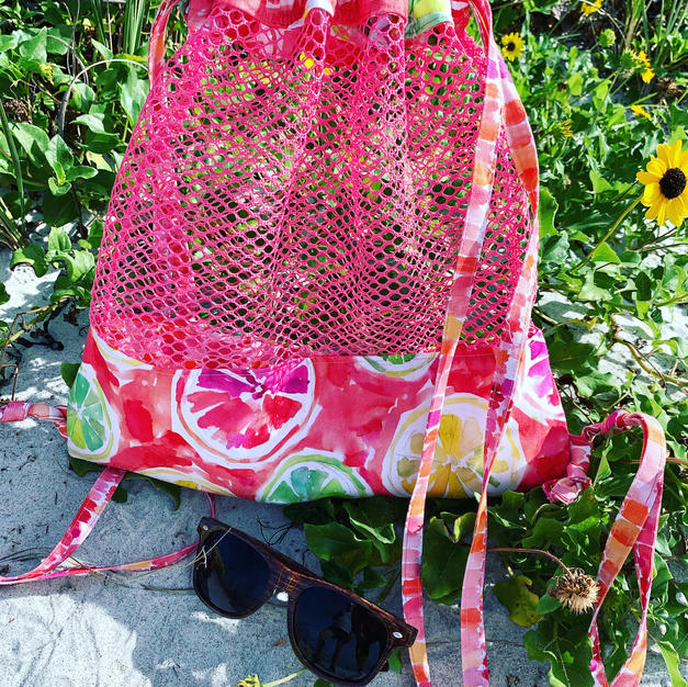 Madeira Mesh Beach Bag