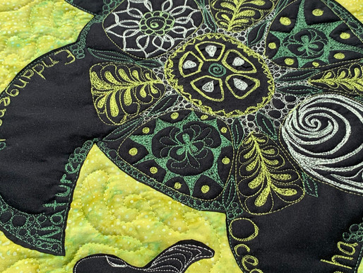 Thread All About It - Island Batik's Aurifil Endangered Species October Thread Challenge