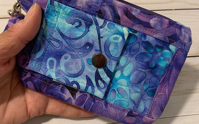 Grab And Go Minimalist Wallet PDF Sewing Pattern