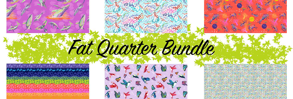 FreeSpirit Migration by Lorraine Turner Six Fat Quarters Bundle Se