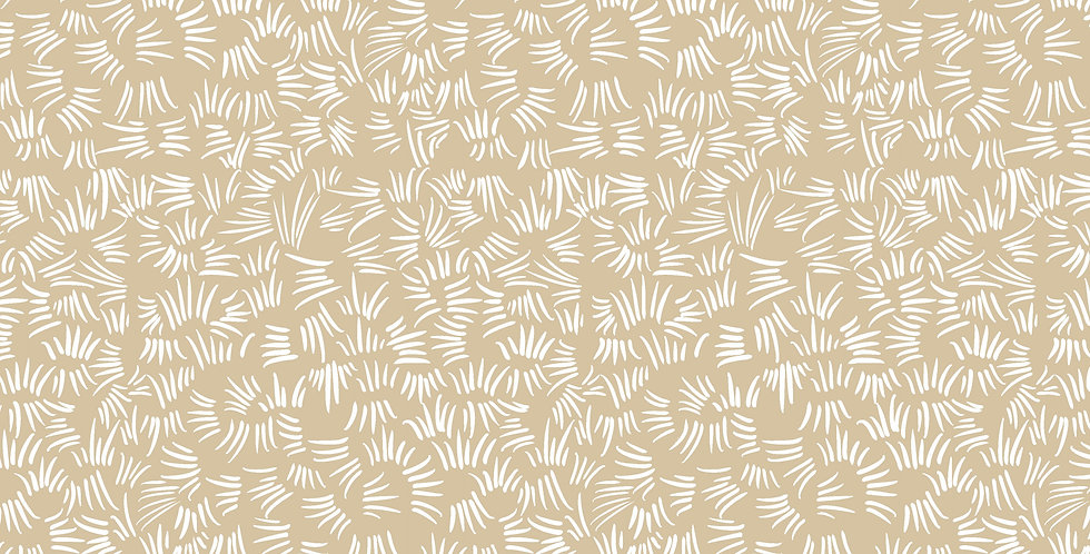 FreeSpirit Calico Horses by Lorraine Turner Desert Sand Fabric