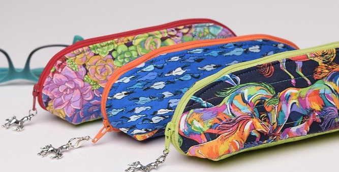 Simply Sunny Eyeglass Case PDF Sewing Pattern