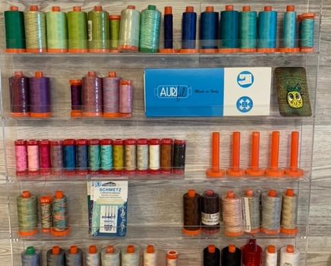 Getting Organized: Sewing Thread Organization Idea