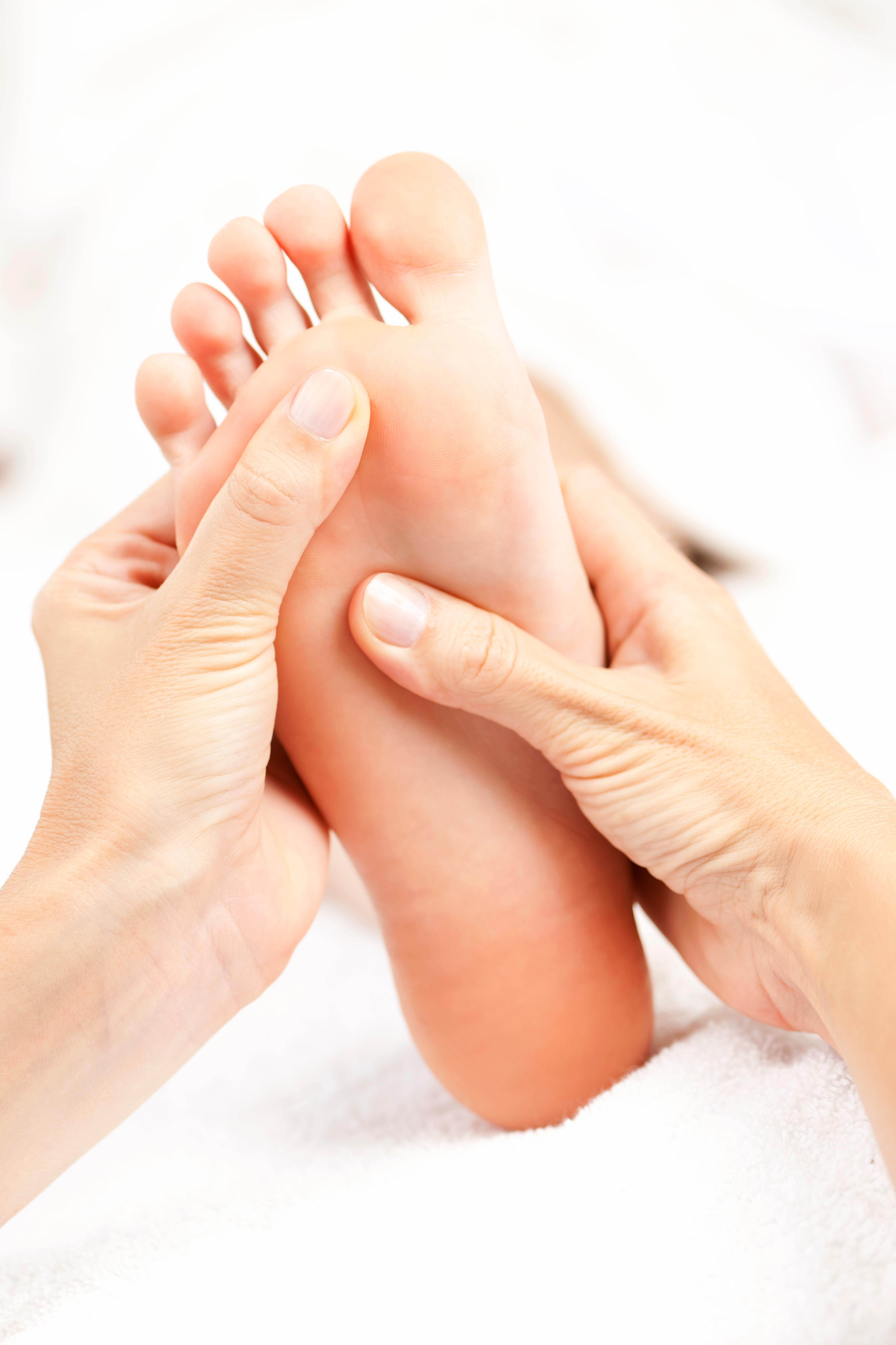 #7.  Foot Massage
