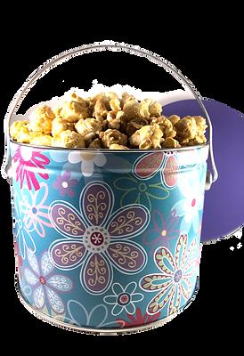 1/2 Gallon Popcorn Tin!