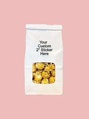 Custom Sticker Favor Bags (25 pack))