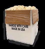 Bulk Popcorn Dimensions
