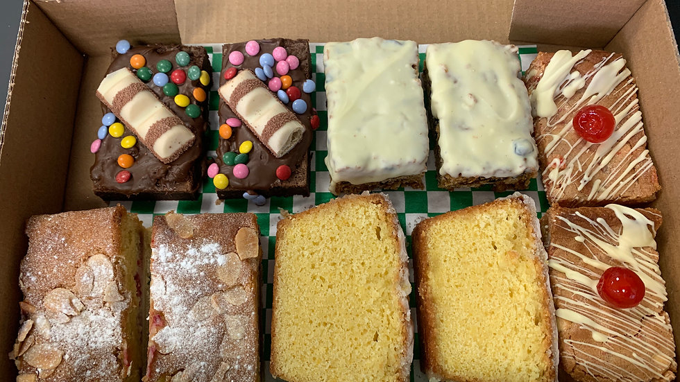 """The Ultimate"" 10 Piece Mixed Cake Box"