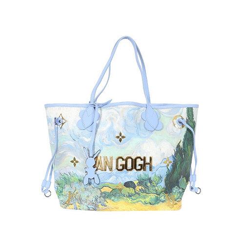 LOUIS VUITTON x Jeff Koons Van Gogh Neverfull MM Bag