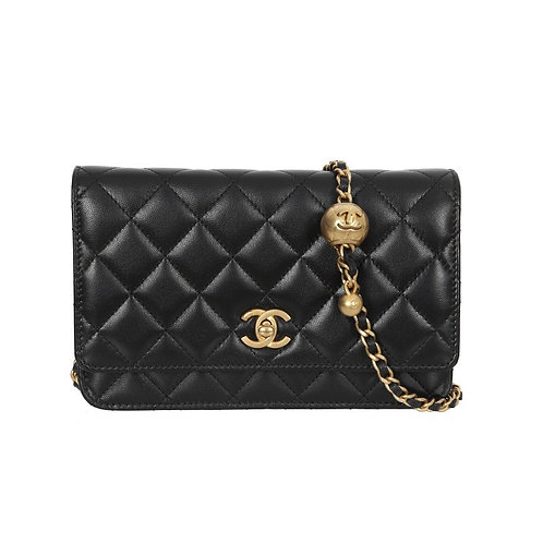 CHANEL Gold Pearl Crush WOC