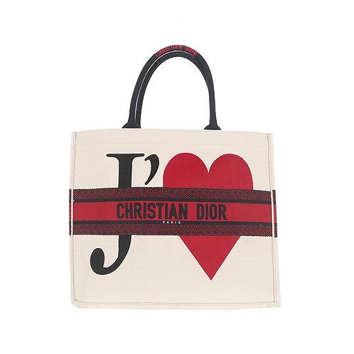CHRISTIAN DIOR Je T'aime Book Tote