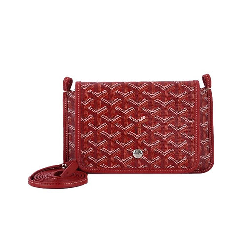 GOYARD Plumet Crossbody Bag Red