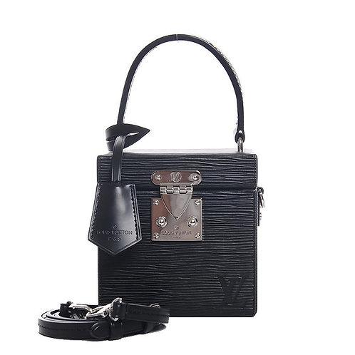 LOUIS VUITTON Bleecker Box Noir Epi Leather