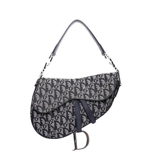 CHRISTIAN DIOR Vintage Oblique Saddle Bag