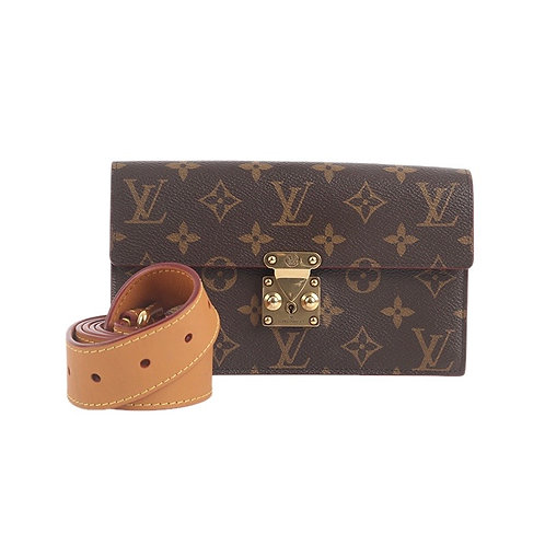 LOUIS VUITTON S Lock Belt Pouch PM
