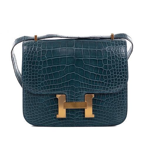 HERMÈS Constance 18 Alligator Bag