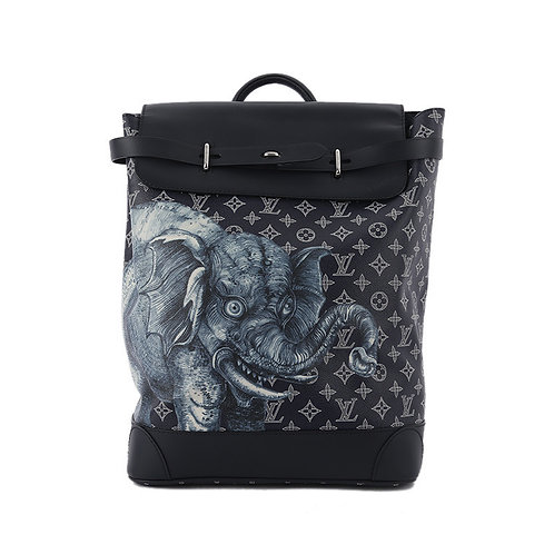 LOUIS VUITTON Steamer Backpack Chapman Savane Monogram