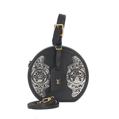 LOUIS VUITTON Metallic West Petite Boite Chapeau Bag