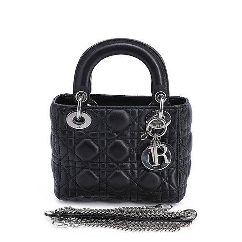 CHRISTIAN DIOR Mini Lady Dior Lambskin Bag