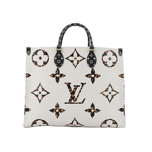 LOUIS VUITTON Onthego Ivoire