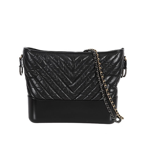 CHANEL Chevron Large Gabrielle Hobo Bag