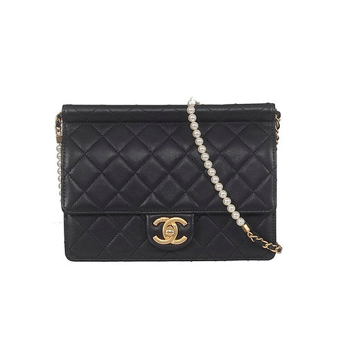 CHANEL Pearl Flap Bag