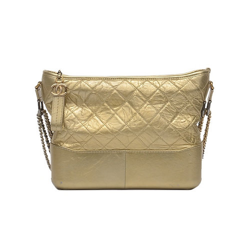 CHANEL Medium Gabrielle Hobo Bag Gold