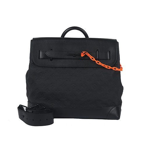 LOUIS VUITTON Steamer Monogram PM Black