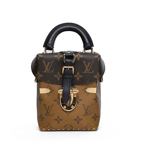 LOUIS VUITTON Limited Edition Reverse Monogram Camera Box Bag