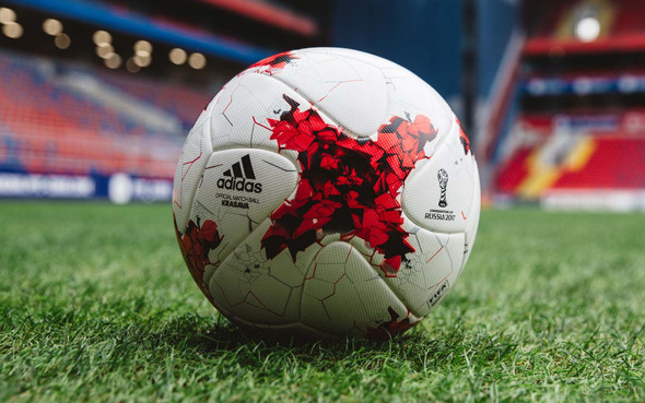 'KRASAVA' IL PALLONE DELLA CONFEDERATIONS CUP 2017