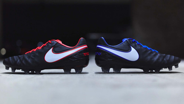 NIKE TIEMPO DERBY DAY, ROSSO VS BLU