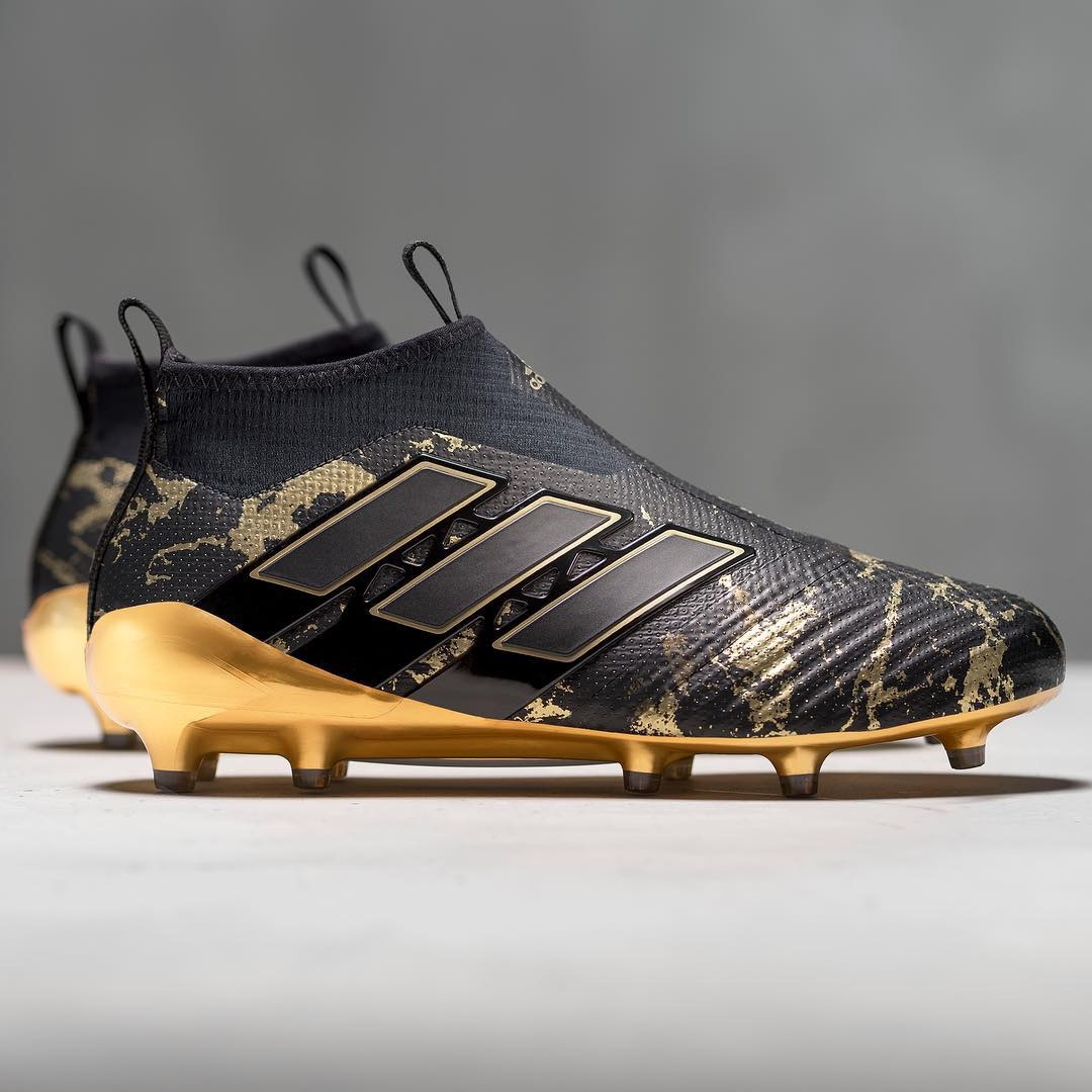 adidas pogba boots nero and gold