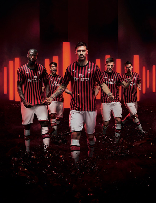 PUMA FOOTBALL PRESENTA IL NUOVO HOME KIT 2019/20 DEL MILAN