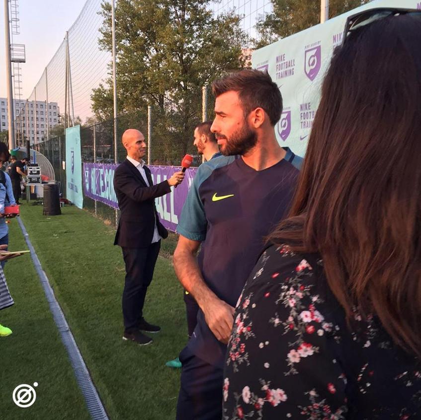 Nike Academy with Barzagli & Bonucci