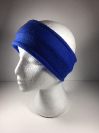 Fleece Ear Warmer-Blue