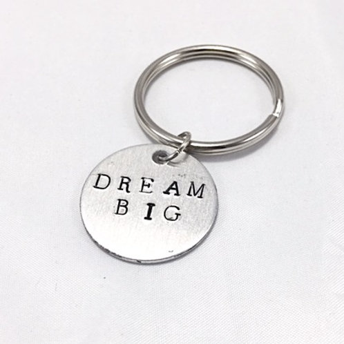 Dream Big Keychain
