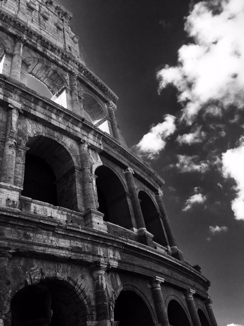 Colosseum in the Clouds